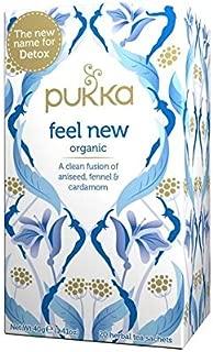 Prunelax Pukka Herbal Teas Detox Organic Aniseed Fennel and Cardamom Tea, Caffeine Free, 20 Count