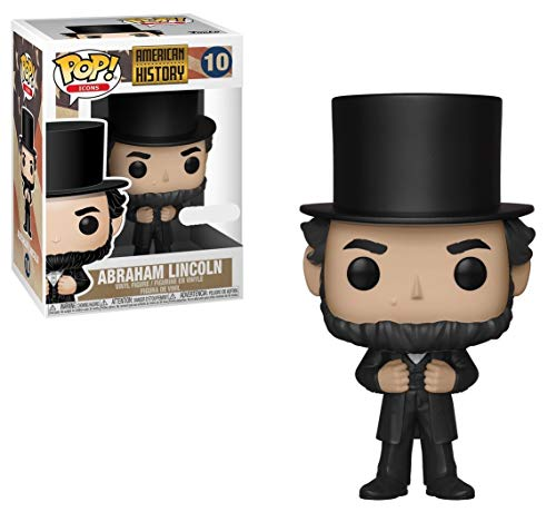 Funko Pop! Icons American History Abraham Lincoln #10 Exclusive