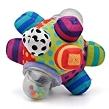 Developmental Bumpy Ball Easy to Grasp Bumps Help Develop Motor Skills for Baby Ages 6 Months and Up