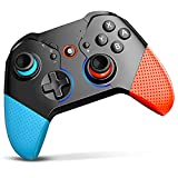 Wireless Controller for Nintendo Switch/Switch Lite with Wake-Up, Bluetooth Switch Controller Gamepad with Programmable Macro Turbo Vibration Motion Joystick Screenshots 8 Colorful Light for NS Games