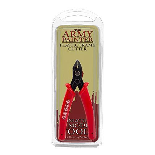 The Army Painter | Plastic Frame Cutter | Strumento per Tagliare | Per Eliminare Imperfezioni | Accessorio in Acciaio Inox per Modelli in Miniatura