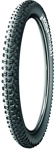 Michelin Wild Rock'R , Pneu VTT, Tringle Souple, Tubeless Ready, Noir, 26 x 2.10