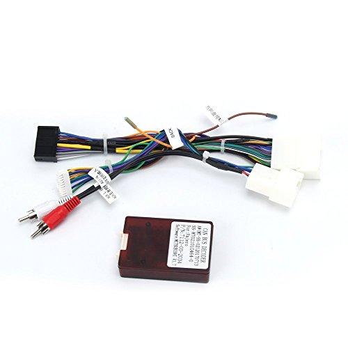 Dasaita CB001 Autoradio Adapter Kabel Stecker für Mitsubishi Lancer 2007 to 2013 mit Original Rockford Fosgate Verstärker System (Nur für Dasaita Autoradio geeignet)