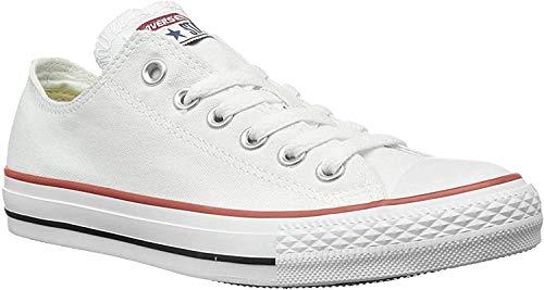 Converse All Star Ox Garcon Baskets Mode Blanc