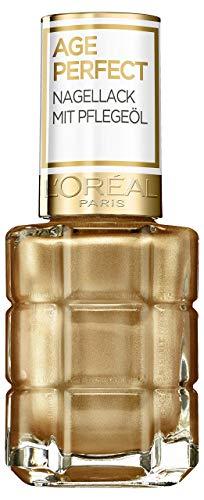 L'Oréal Paris Age Perfect Nagellack mit Pflegeöl 660 Gold, 14 ml
