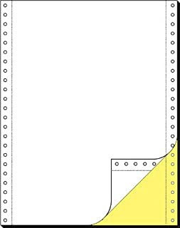 Carta in modulo continuo Sigel 12376 2.000 fogli 60 g 12 x 375 mm A3 orizzontale