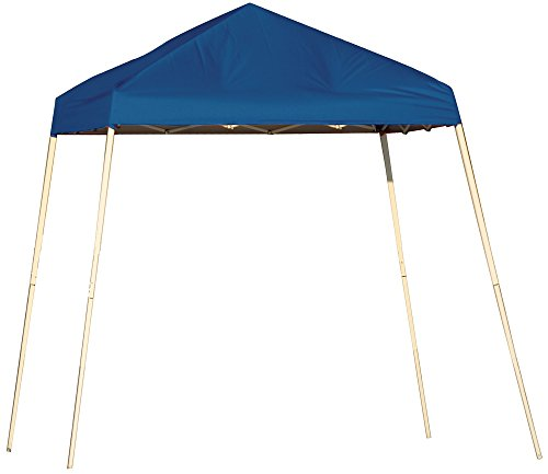 ShelterLogic Slant Leg Pop-Up Canopy with Carry Bag, Green, 8 x 8 ft.