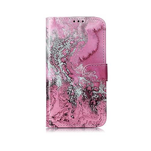 Mármol Flip Wallet Case para iPhone 11 Pro max 12 X Xs Max XR 7 8 6 6S plus libro estilo teléfono caso 3D Vision cuero casos Coque-F-para iPhone 6 6s