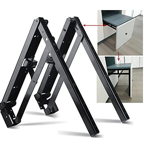 LJJT 1 par (2 piezas)/lote ocultar asiento plegable taburete soporte bisagra RV estante soporte zapatero armario taburete zapato poner