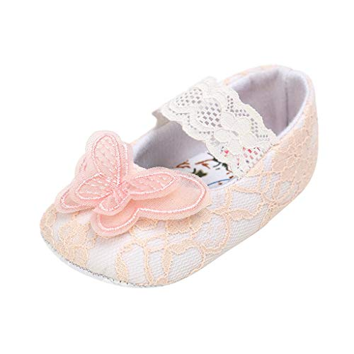 AIni Zapatos De Bebé,Zapatos De Princesa De Encaje De Mariposa