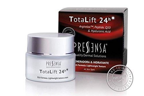 TotaLift 24h CREMA DIARIA ANTI EDAD, regeneradora e hidratante con EFECTO BOTOX FACIAL y con Péptido ARGIRELOX™, Q10, Ácido Hialurónico
