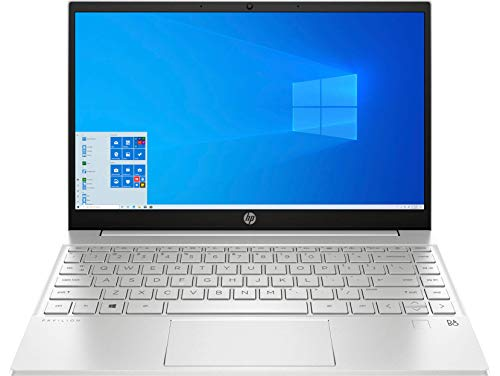 "HP Pavilion 13 11th Gen Intel Core i5 13.3"" (33.78 cms) Ultra Thin FHD Laptop (16GB/512GB SSD/Win10/MS Office/Alexa Built-in/Natural Silver/1.24 Kg), 13-bb0075TU"