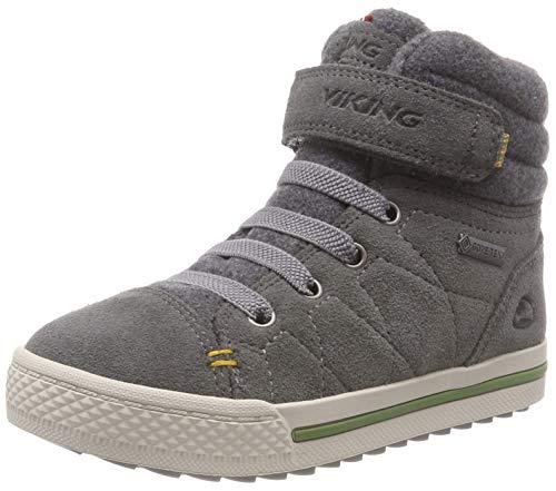 viking Unisex-Kinder Eagle IV GTX Hohe Sneaker, Grau (Grey 3), 34 EU