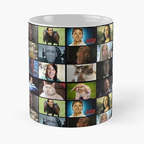 Nicolas Cage Rage Memes Classic Mug
