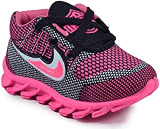 Girls Clubs Sports Shoes Multicolor Age-Group 1.3 Year to 3.5 Year for Kids