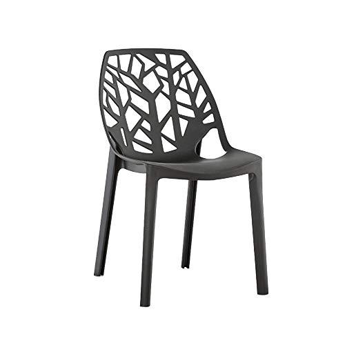 DENGSHENG SHOPS eetkamerstoel bureaustoel conferentie stoel Hotel Internet Cafe Club studiekamer dikker plastic volwassen kleine huishoudelijke stoel, Size, A
