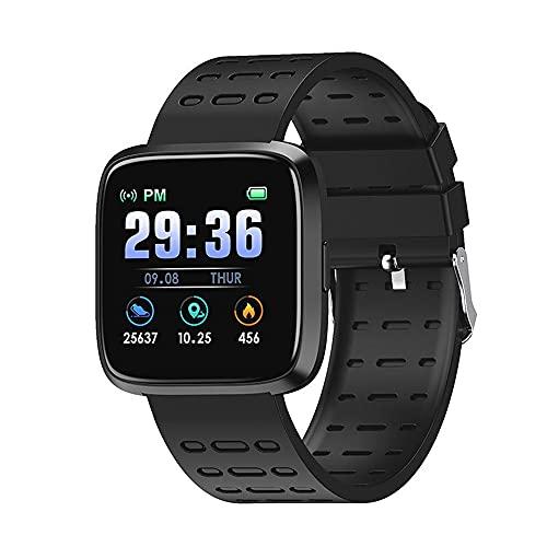 chengjinhuashangmao Smart Watch V12 Monitoreo de Ritmo cardíaco Monitoreo Información Información Smart Reminder Deportes Bluetooth Smart Pulsera Watch (Color : 1)