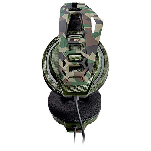 Plantronics Rig 400 Gaming Headset mit Mikrofon für PC Camouflage