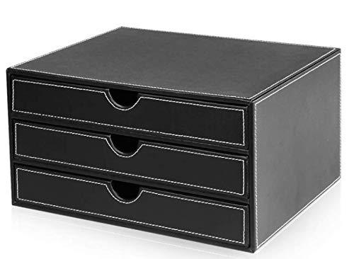 colore: nero Cassettiera da Ufficio 5 cassetti di File Cabinet staccabile metallo di riempimento file CAB Comodino documenti di Office Gabinetto Governo di immagazzinaggio con 4 ruote Color : D