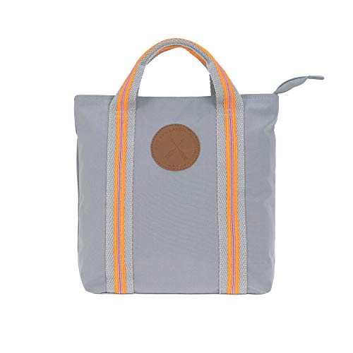 LÄSSIG Kinderrucksack/Kindergartentasche Partnerlook mit Mama/Tote Backpack Adventure, grau