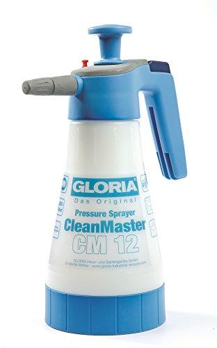Gloria CleanMaster CM12 - Pulverizador de presión para limpieza (1,25 L)