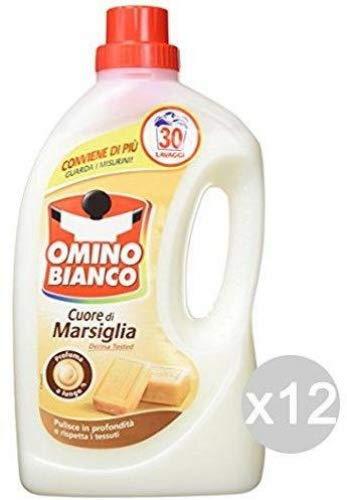 Omino Bianco Set 6 30/26 Lavatrice Marsiglia Detersivo Lavatrice E Bucato