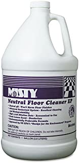 Misty Neutral Floor Cleaner EP, Lemon, 1gal Bottle - Includes four per case.