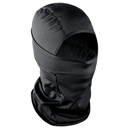 Sturmhaube Windmask Winter Gesichtsmaske Snowboard Maske Skimaske Gesichtsmaske für Fahrradfahren Skifahren Motorradfahren (Schwarz dick)
