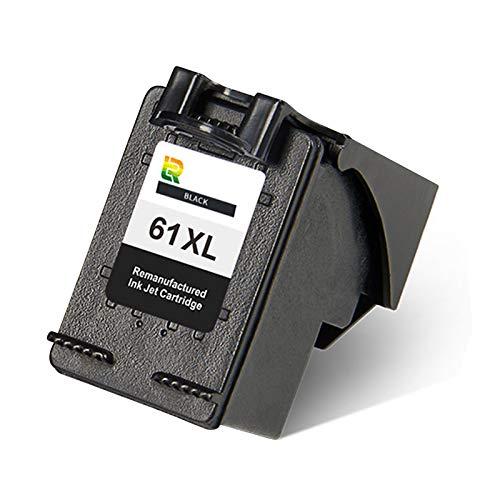 1 cartucho de tinta 61XL, de alto rendimiento para impresora de inyección de tinta HP DeskJet 1010, 1510, 2510, 3510, 2620, color negro y negro