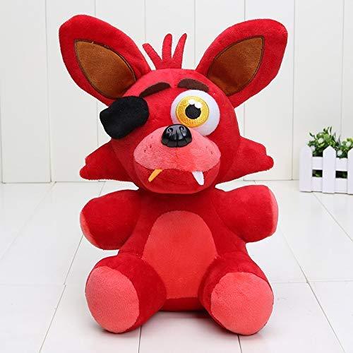 muyichen Stuffed Toy 25cm Plush Five Nights At Freddy'S Nightmare Foxy Mangle Green Phantom Foxy Plush Doll Vedio Game Character Toys