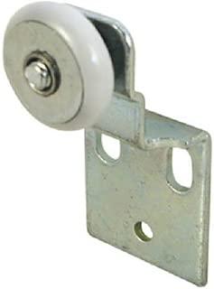 Slide-Co 16202-B Closet Door Roller Assembly, 3/4 in. Convex Edge Ball Bearing Plastic Wheel, 1/2 In. Offset