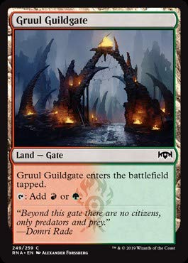 Magic: The Gathering - Gruul Guildgate (249) - Ravnica Allegiance