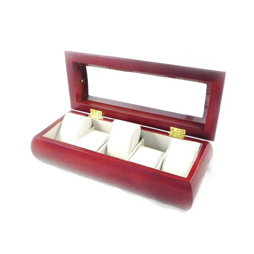 Les Trésors De Lily [H9737] - Boxed Armbanduhr 'Wales' 5 Holz Armbanduhr.