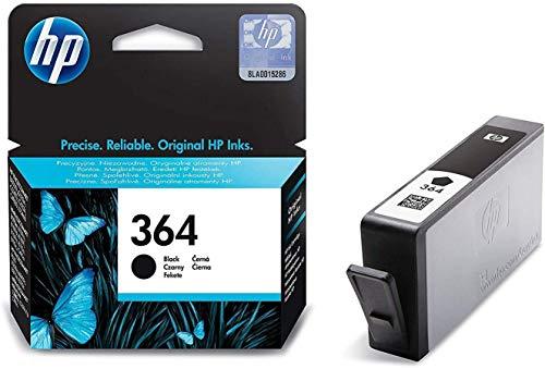 HPCB316EE 364 Cartucho de Tinta Original, 1 unidad, negro