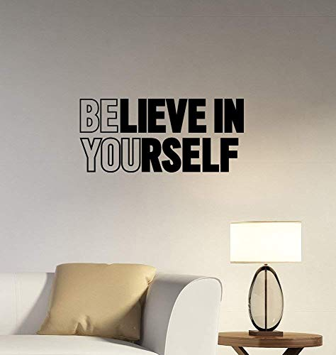 VVWV Motivational Quotes Wall Sticker Design for Bedroom Vinyl Wall Stickers Home Living Room...