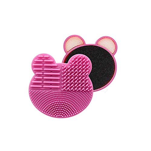 Color Removal Cleaner Sponge Dry Makeup Brush Quick Cleaner Sponge Removes Shadow Color From Your Brush Without Water Or Chemical Solutions Eliminating Drying Time-Compact Size For Travel 1 PCS