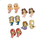 Princess-J Girls' Earrings