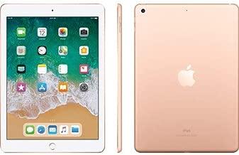 Apple 9.7in iPad (6th Generation, 128GB, Wi-Fi + 4G LTE, Gold) (Renewed)