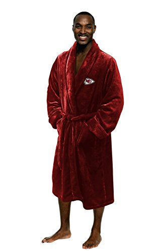 The Northwest Company Officially Licensed NFL Team Silk Touch Bath Robe, For Men and Women , Large-X-Large