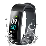 Ulvench Fitness Tracker, Heart Rate Monitor Smart Watch with Calorie...