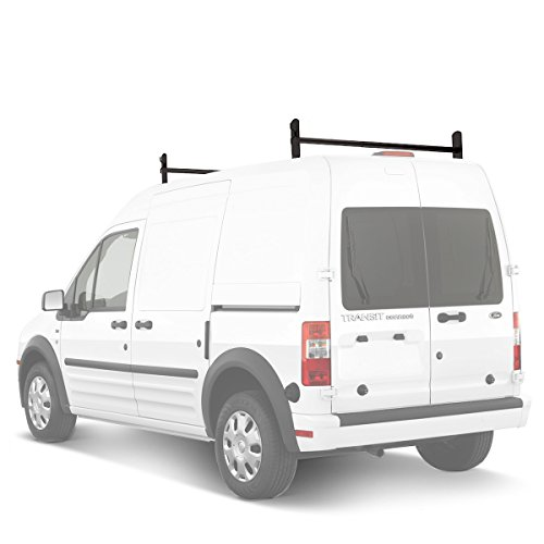 AA-Racks Model DX36 Compatible Ford Transit Connect 2008-13 Steel 2 Bar Utility...