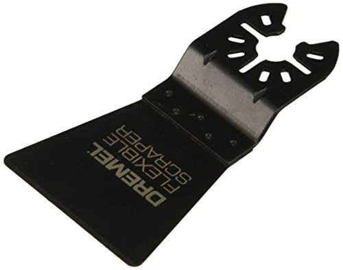 Dremel MM610 Oscillating Tool Flexible Scraper – Multi Max Accessory , Black
