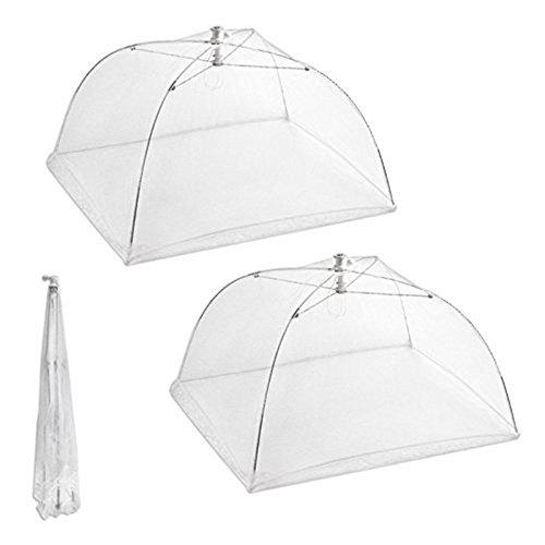 BestMall Food Cover Net Tents Abdecknetz für Lebensmittel, weiß, Size1