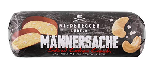 Niederegger - Männersache Marzipan-Brot Salted Cashew Crunch - 125g