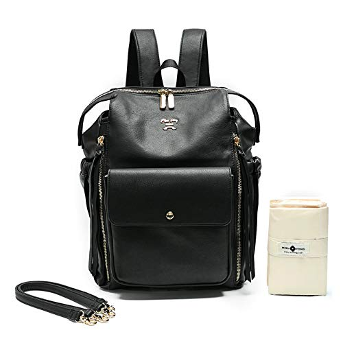 Diaper Bag Backpack by Miss Fong,Baby Registry Search,with in Bag Organizer.