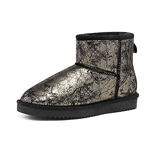 DREAM PAIRS Women's DSB214 Winter Snow Boots Classic Faux Fur Lined...