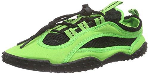 Playshoes Unisex-Erwachsene Aqua-Schuhe Surfschuhe, Grün (grün 29), 39 EU