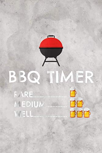 BBQ Timer Barbecue Funny Grill Grilling Gratitude Journal