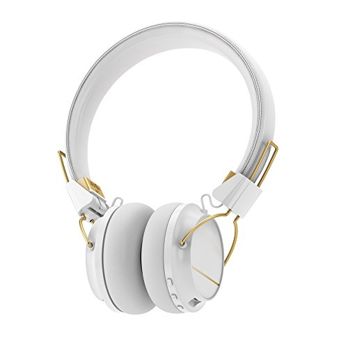 Sudio Regent Bluetooth Wireless Headphone - White/Gold Metal