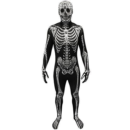Morphsuits MPDD2186–206cm giorno dei morti Fancy Dress costume (2x -large)